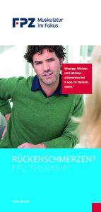 Flyer FPZ Ruecken Therapie